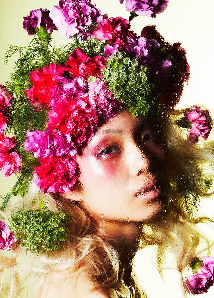 BEAUTY WITH FLOWERS