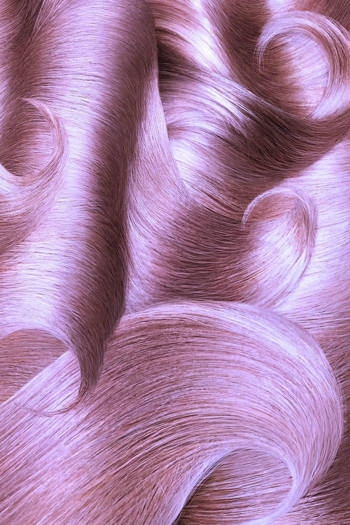 PLATINUM PINK - hair sample