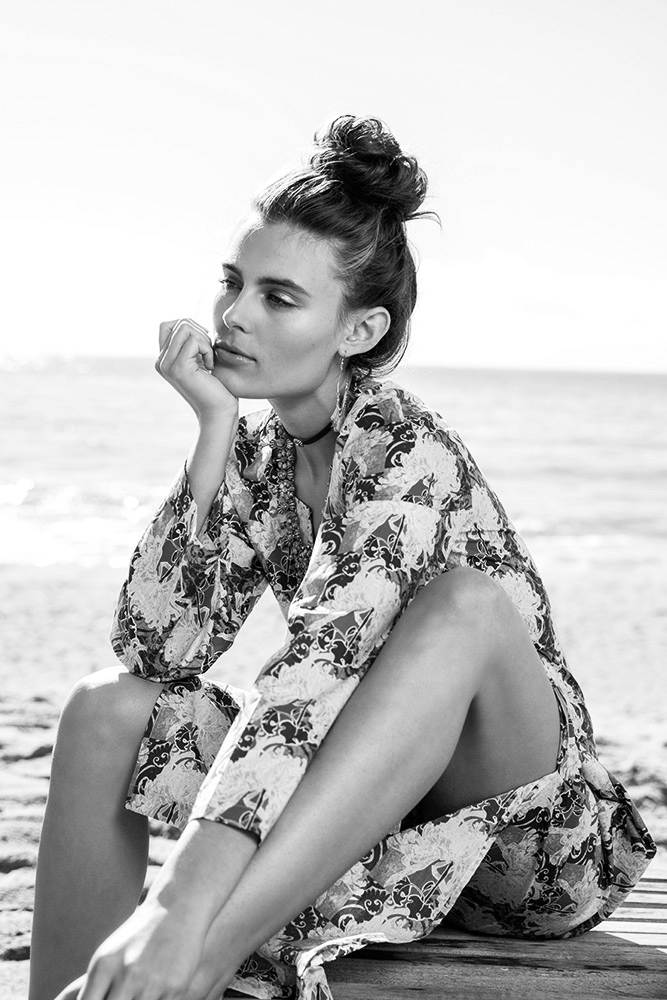 Maggie Mae for BedHead Pajamas photographed by Dorit Thies