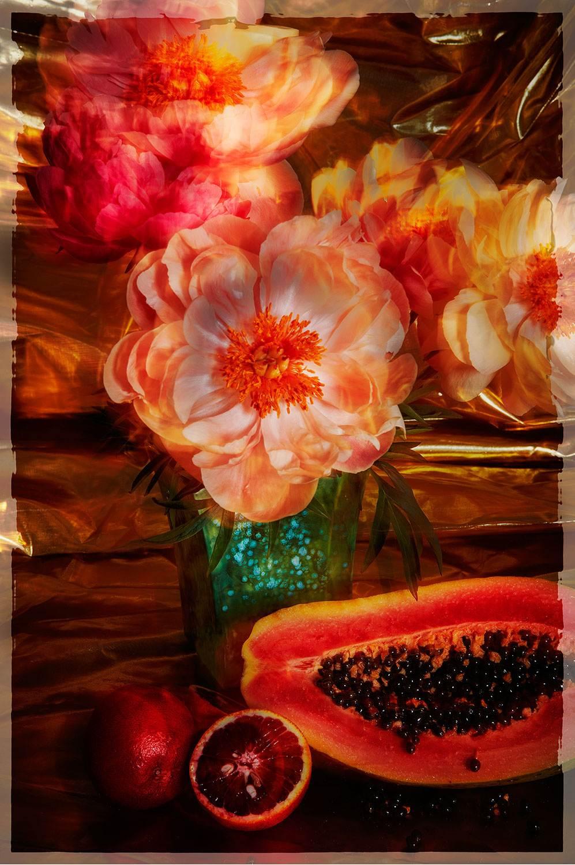 flower and fruit still life