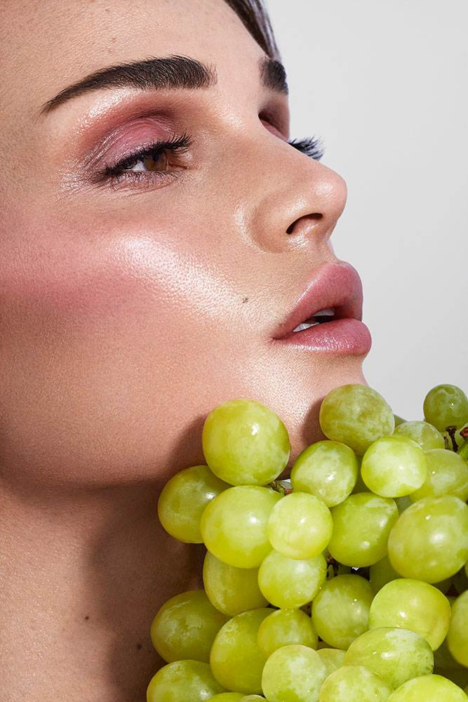 ORGANIC MAKEUP FOR MARIE CLAIRE MAGAZINE