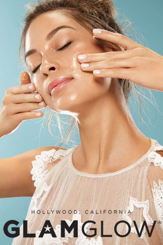Beauty shot _ THIRSTYMUD  for GlamGlow and Sephora