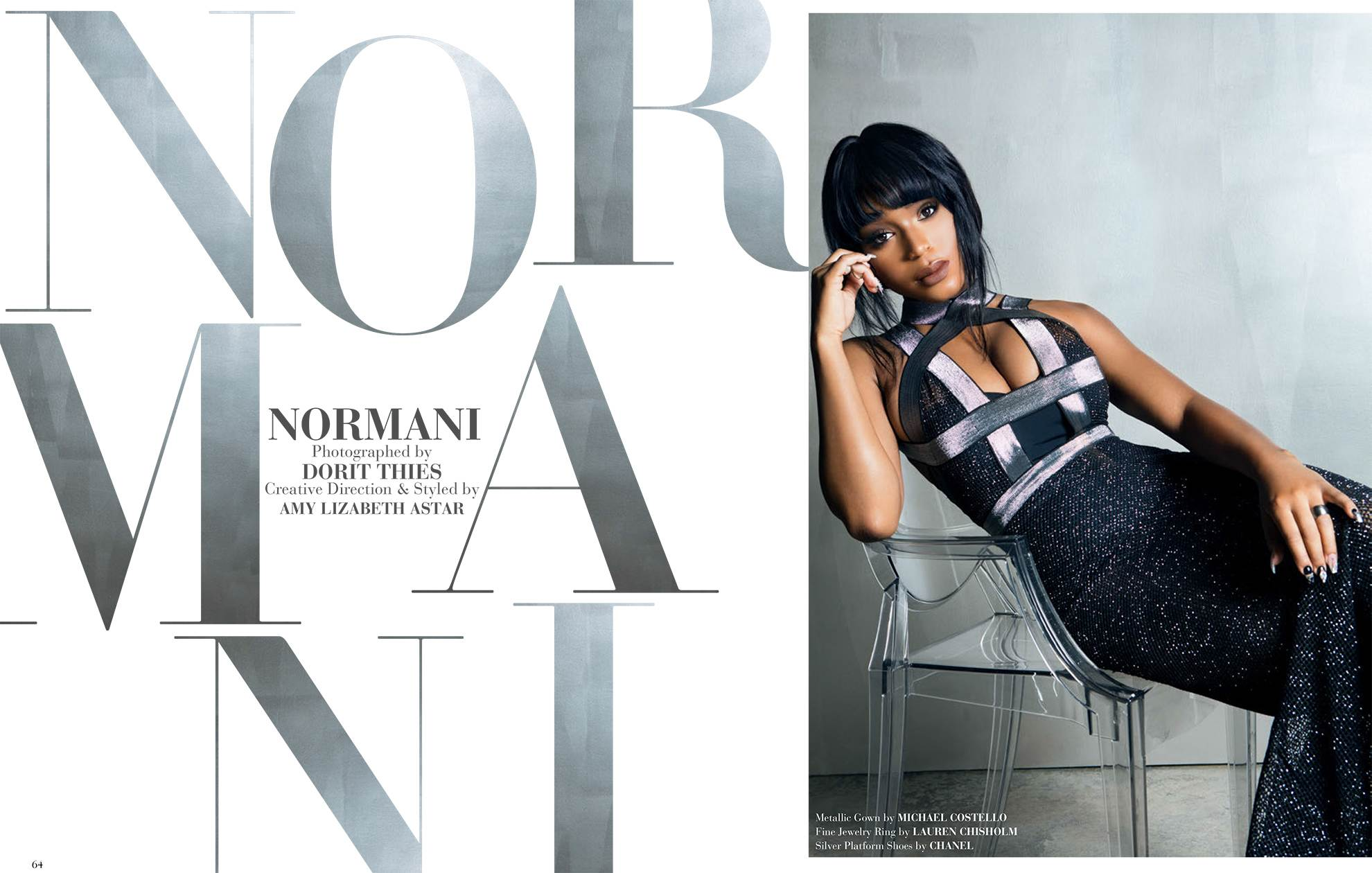 Normani Kordei for Modeliste Magazine