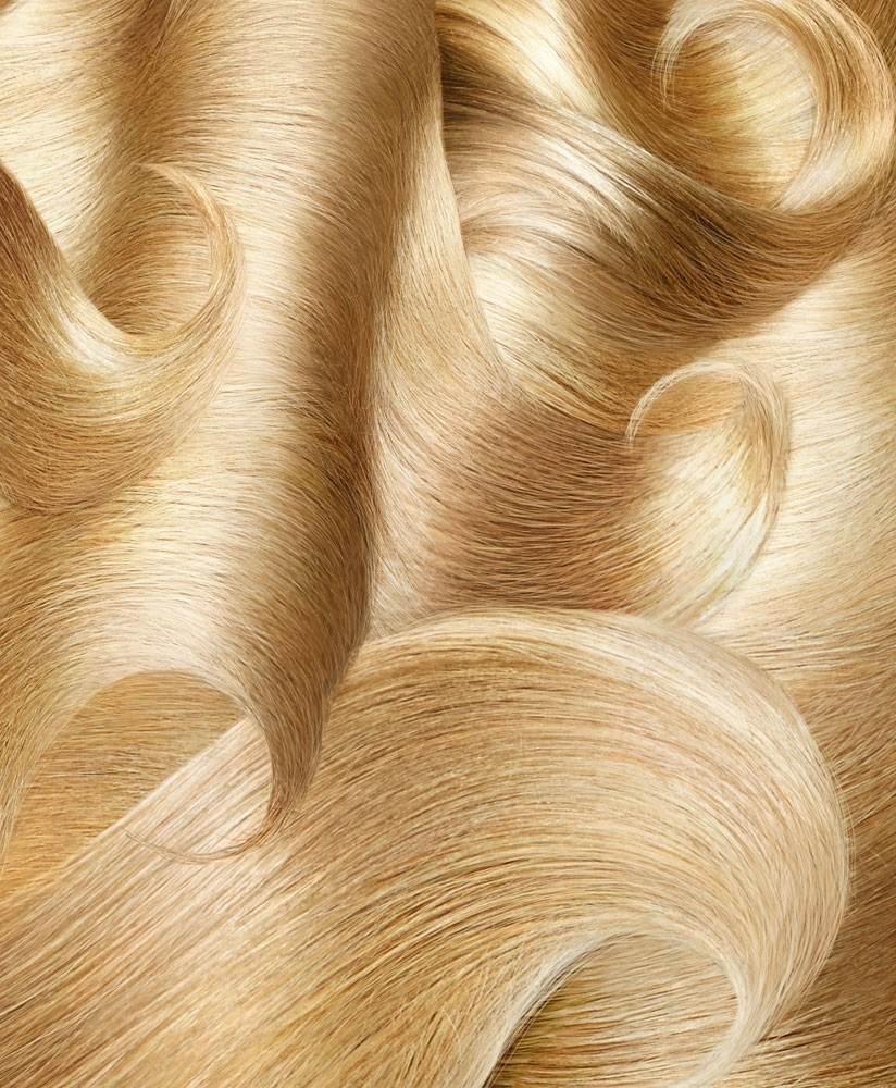 Blond Hair Waves