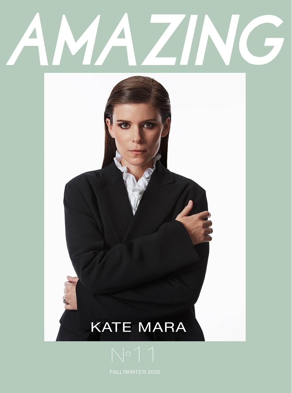 KATE MARA - COVER STORY - AMAZING MAGAZINE