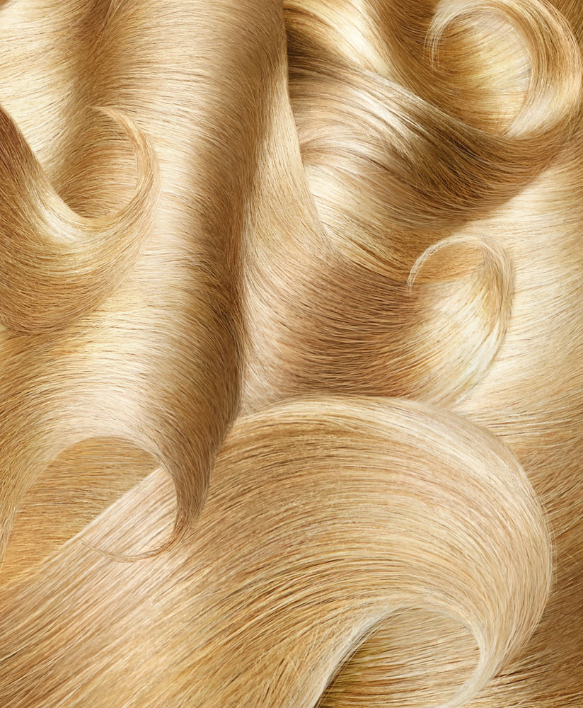 Blond Hair Waves