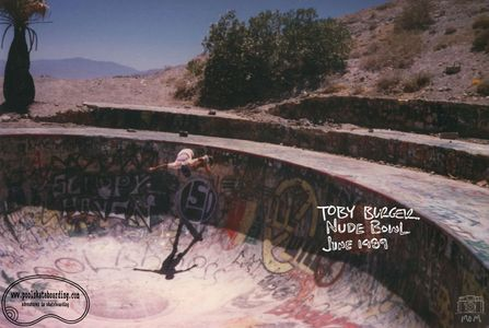 Toby Burger @ Nude Bowl, June 1989