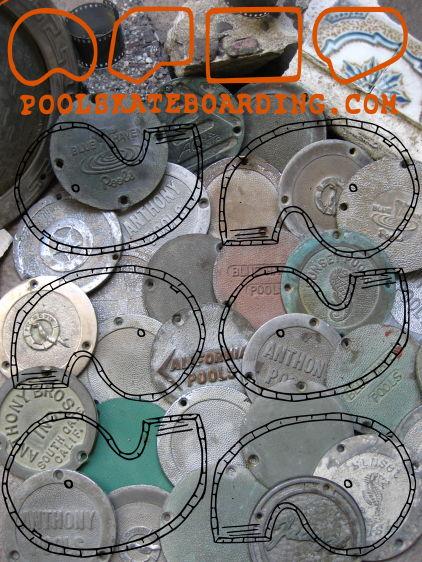 Pool Plates, Tiles, Coping, Film Strips