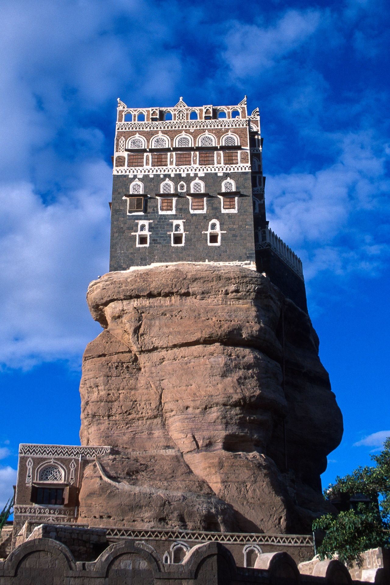 The Rock Palace. Yemen
