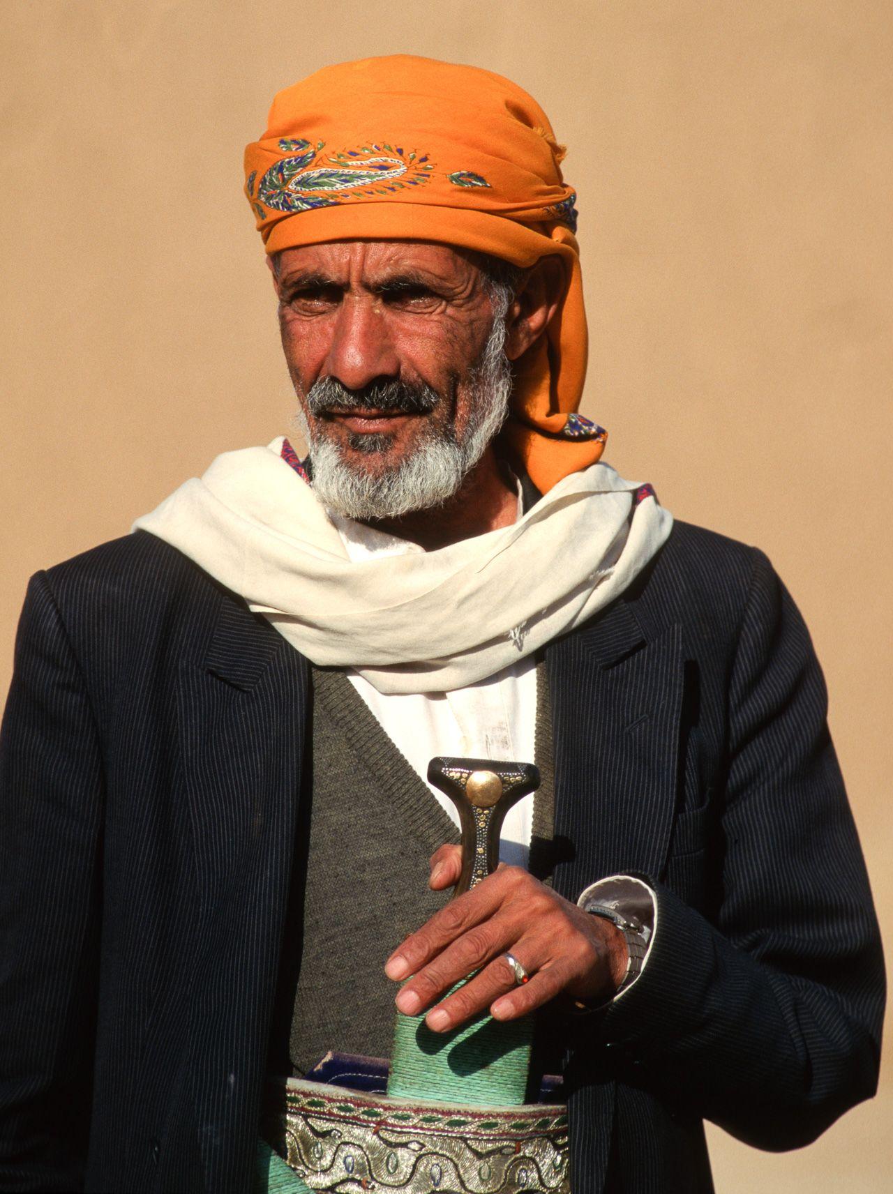 Gentleman from Sana'a. Yemen