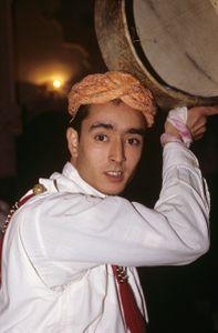 Musician. Marrakesh, Morocco