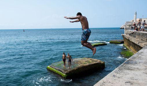 Sea Wall. Havana, Cuba