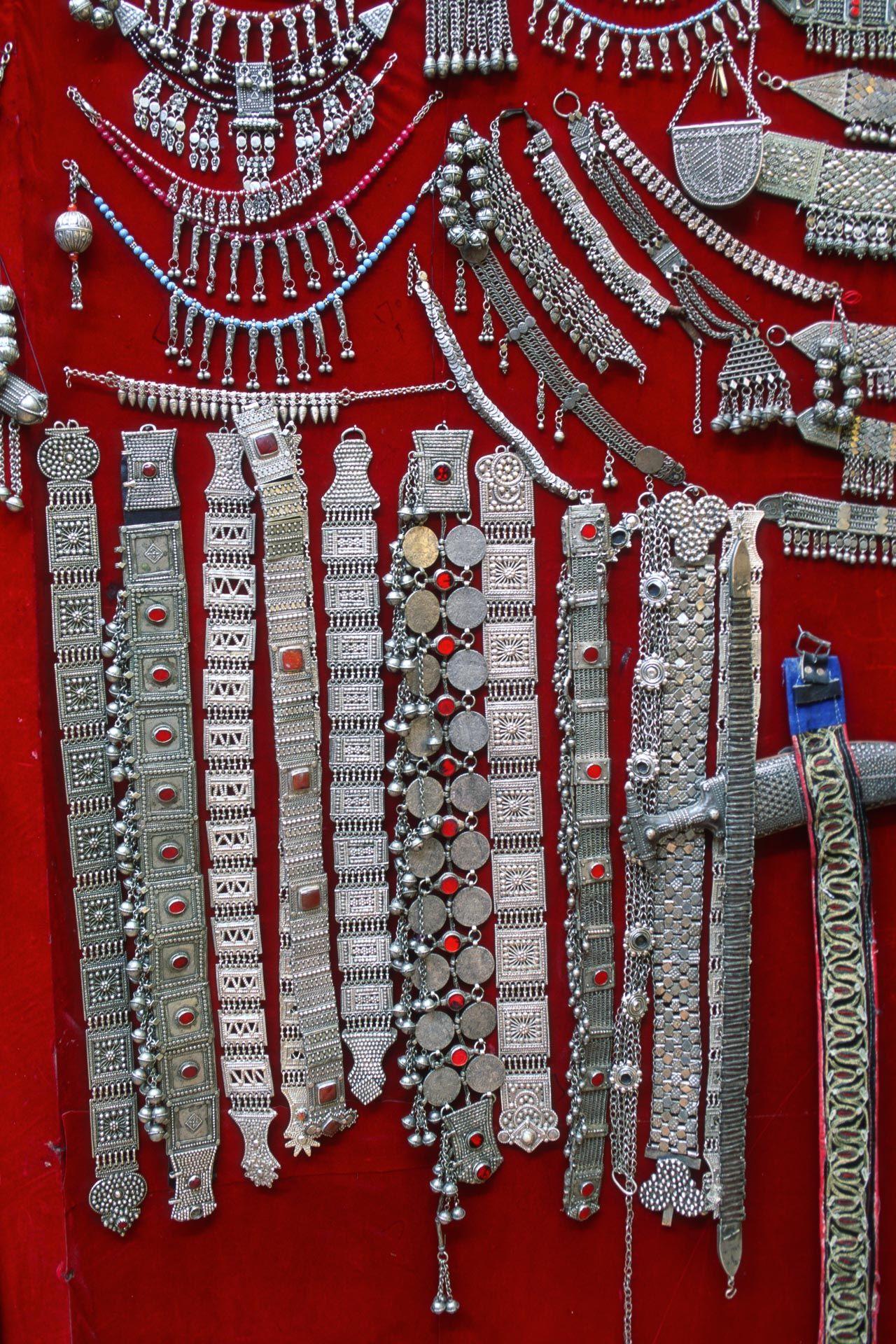 Jewelry. Shibam, Yemen