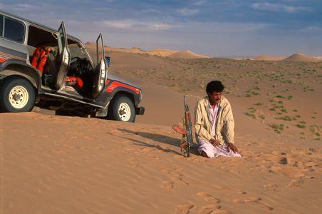 Bedouin Driver, Empty Quarter. Yemen.