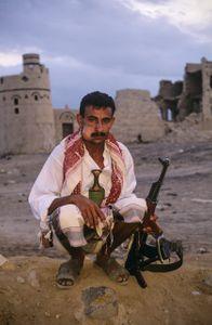 Tribesman.  Marib, Yemen