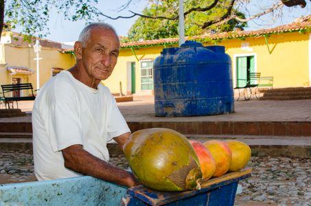 Fruit Vendor. Trinidad, Cuba