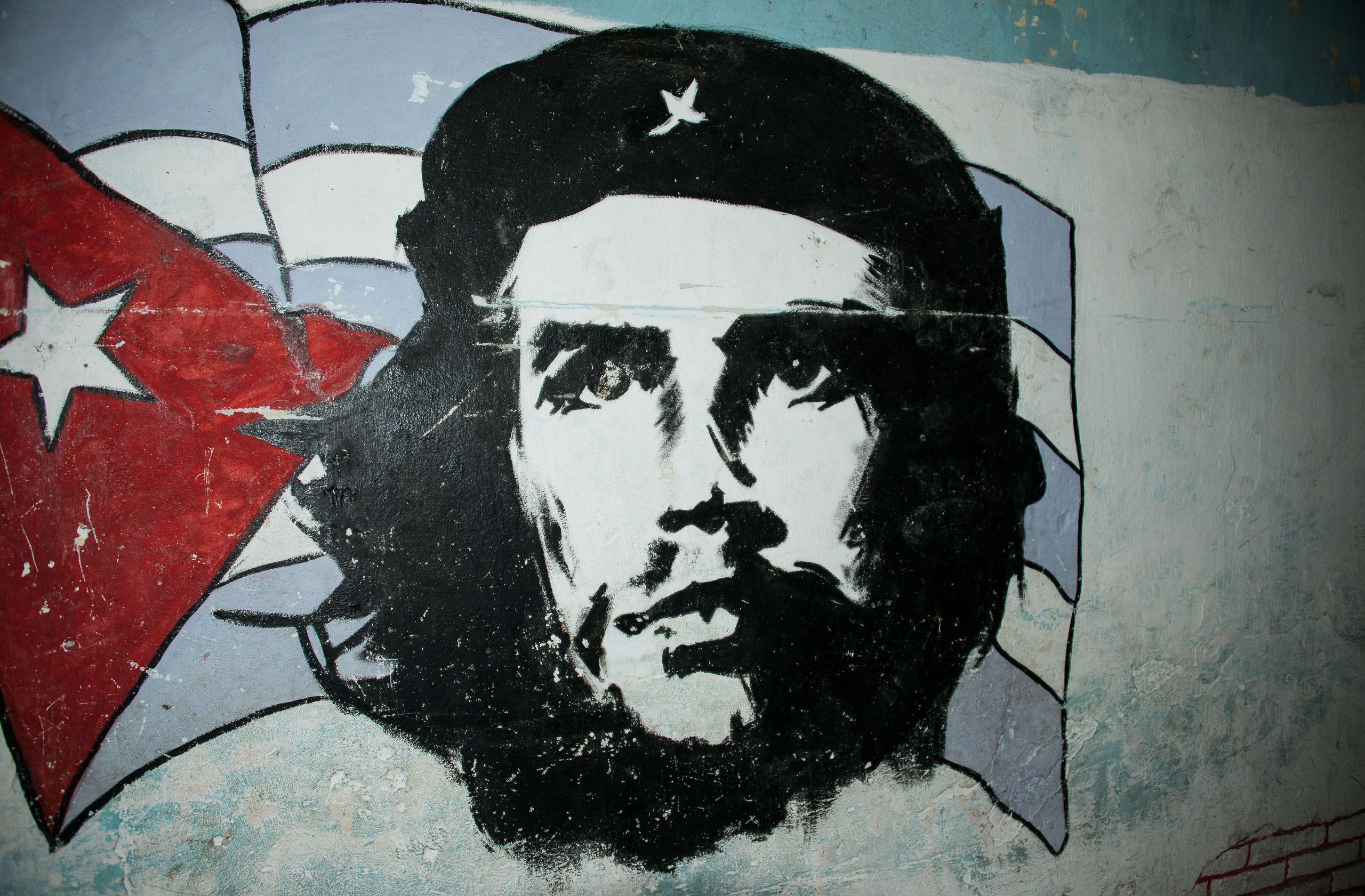 Che Guevara street mural, Havana, Cuba