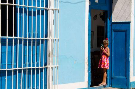 Doorway. Trinidad, Cuba