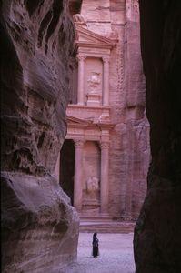 The Treasury. Petra, Jordan
