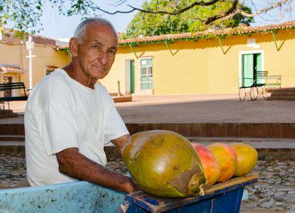 Street vendor. Trinidad, Cuba