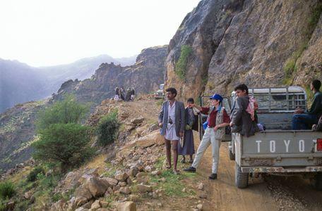 Road to Shahara. Yemen