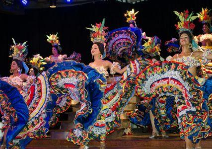 Cabaret Dancers. Havana, Cuba