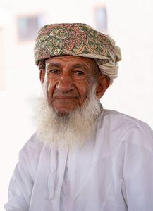 Omani Villager, Nizwa, Oman