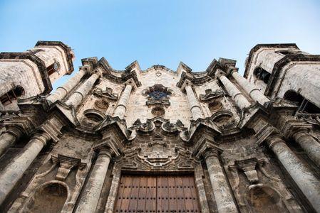 San Cristobal Cathedral. Havana, Cuba