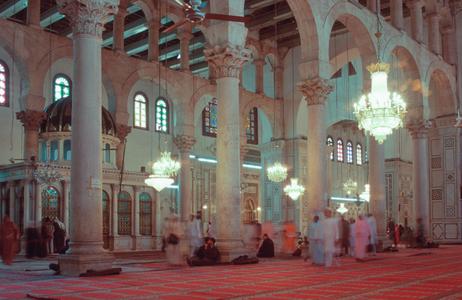 Umayyad Mosque. Damascus, Syria