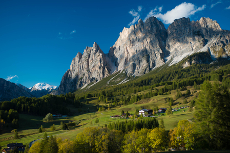 Dolomite Mountains. Alta Badia, Italy