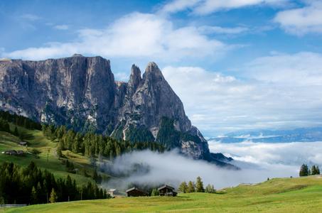 Dolomite Mountains. Alpe de Suisi, Italy