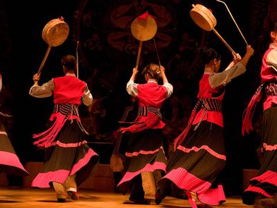 Dancers. Lijiang, China