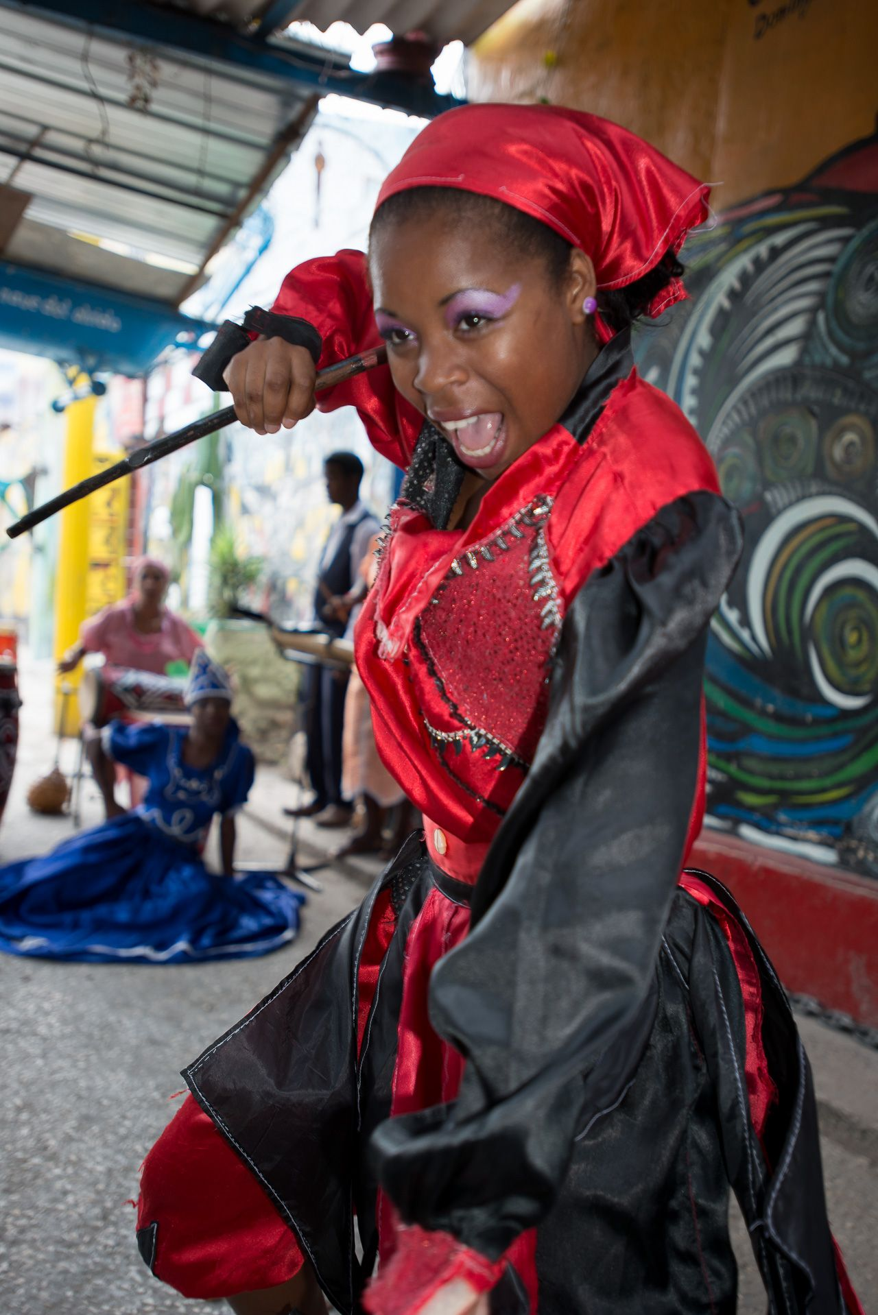 Santeria Dancer. Havana. Cuba