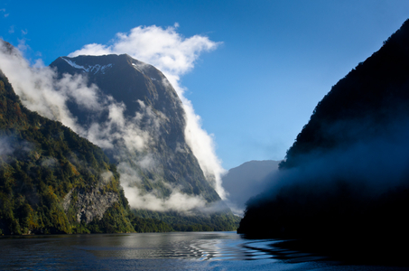 Doubtful Sound. New Zealand