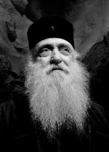 Priest. Patmos, Greece