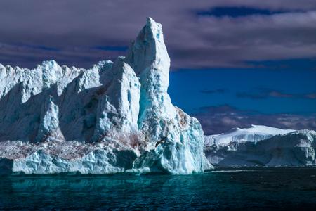 Icebergs. West Greenland