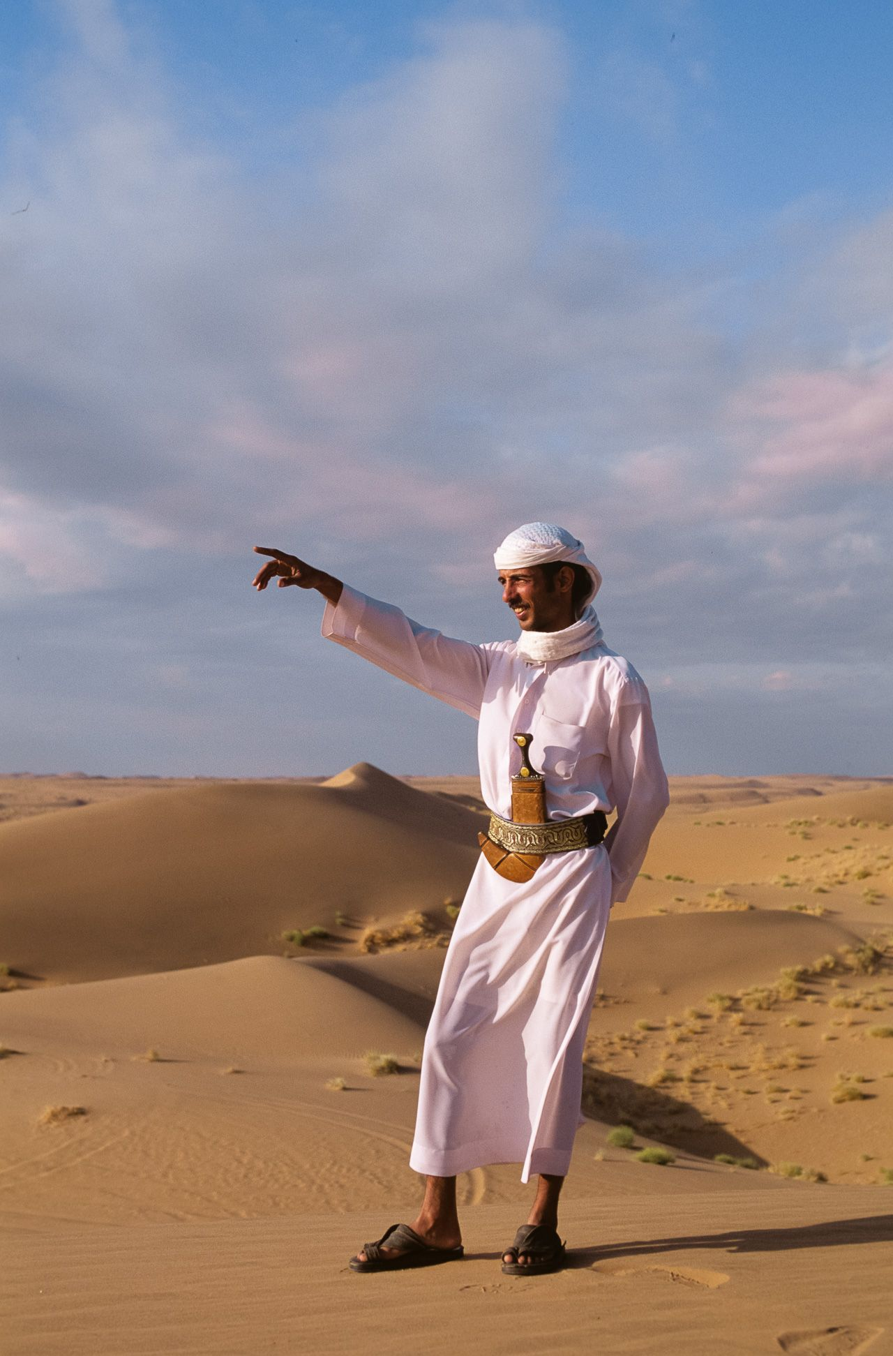 Bedouin Guide. The Empty Quarter, Yemen