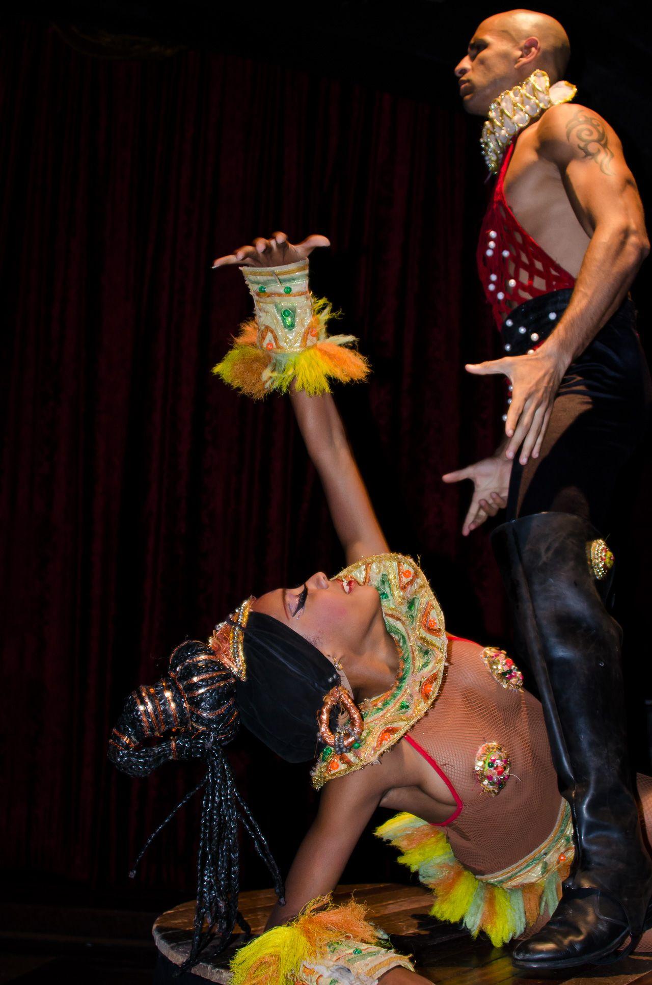 Cabaret performers. Havana, Cuba