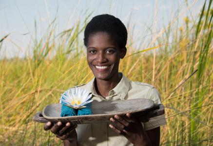 Tribal Woman. Botswana