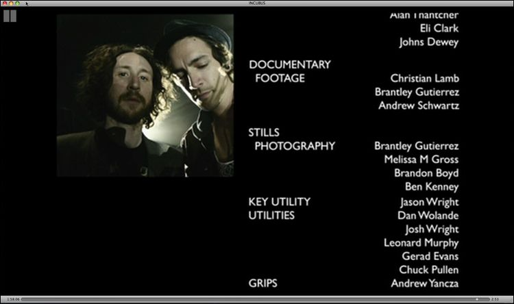 Incubus DVD - Look Alive