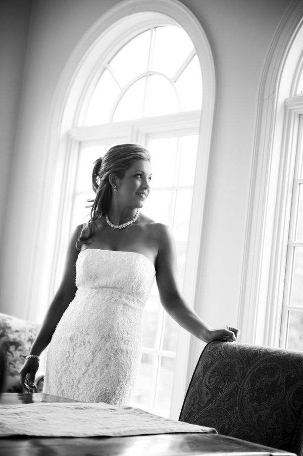 NC Black & White Wedding Photographer