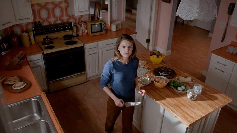 STAGE SET: 1981 Suburban Home,  Jenning's Kitchen