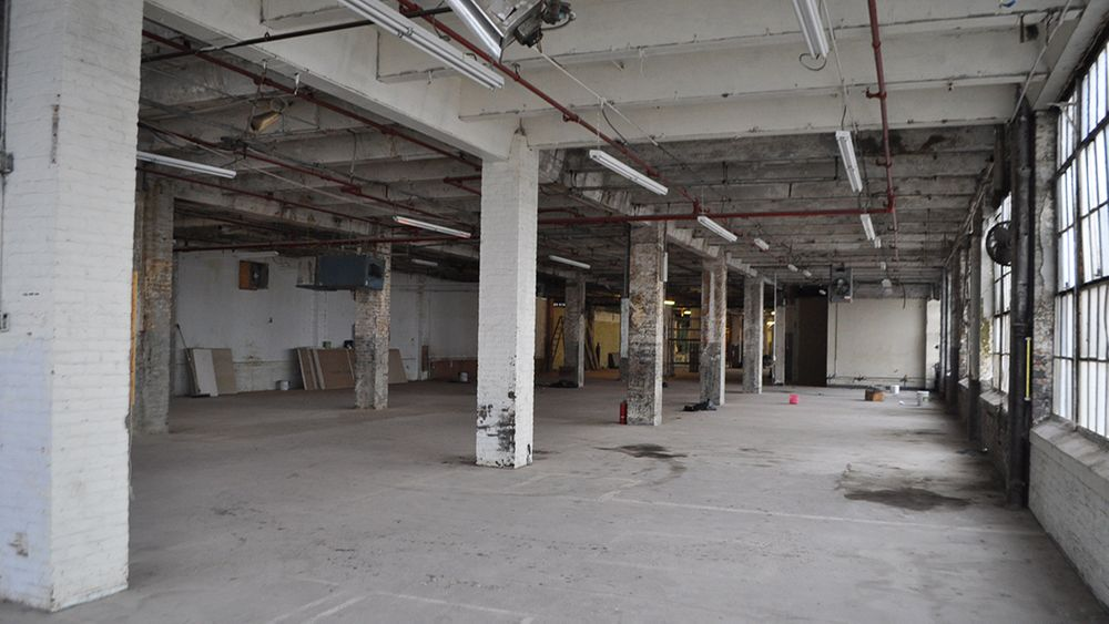 Abandoned Garment Factory Before