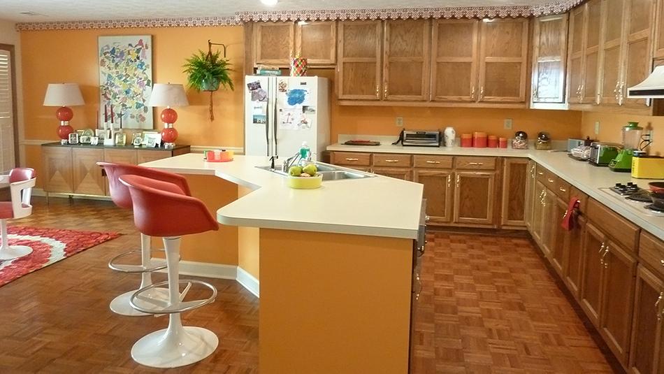 Baton Rouge Surburban Home Kitchen, 1976