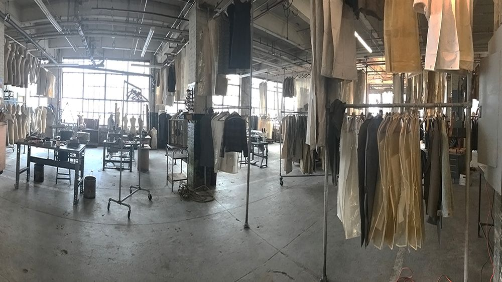 Abandoned Garment Factory After