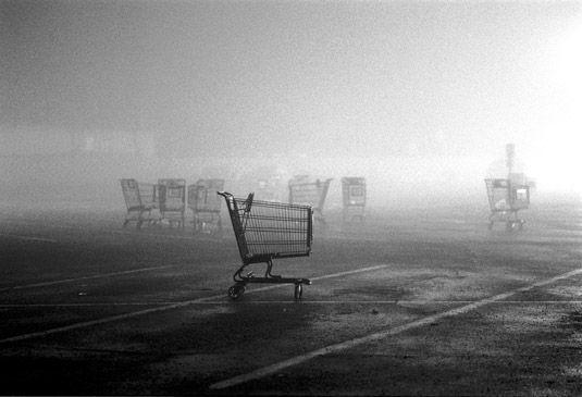 The Runaway Shopping Cart © Ellen Denuto