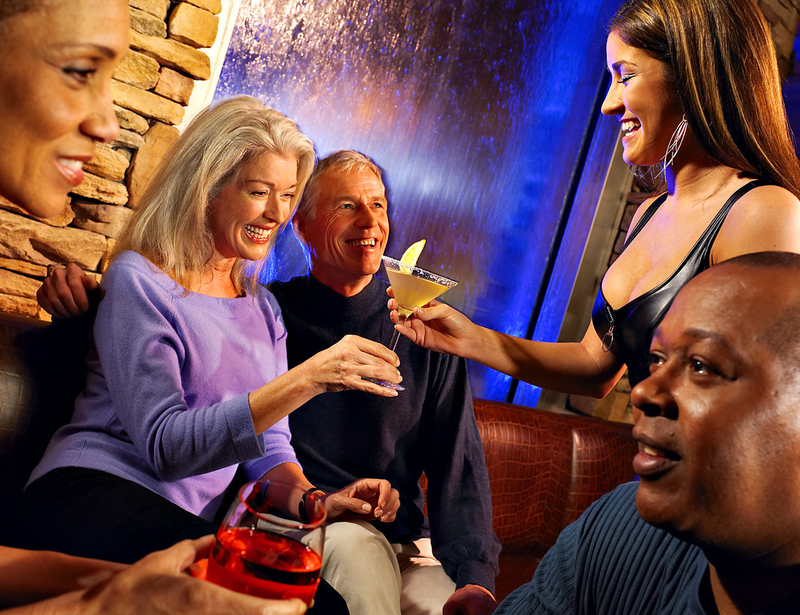 """Thunder Valley Casino, Falls Bar""image © Sampsel Preston Photography, Las Vegas Professional Commercial and Advertising Photographers, 702-873-0094, spp@lvcoxmail.com,www.thebestlasvegasphotographers.com"