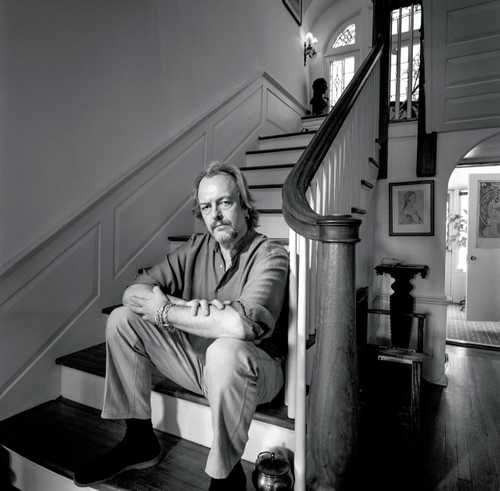 """Illustrator/ Comic Book Artist Barry Windsor Smith, photographed for """"The Artist Within"""" portrait project"""