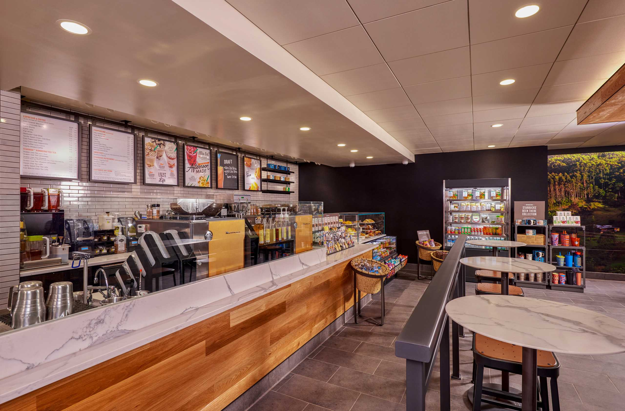 Newly Remodeled Starbucks at The Westin Hotel and Spa Las Vegas