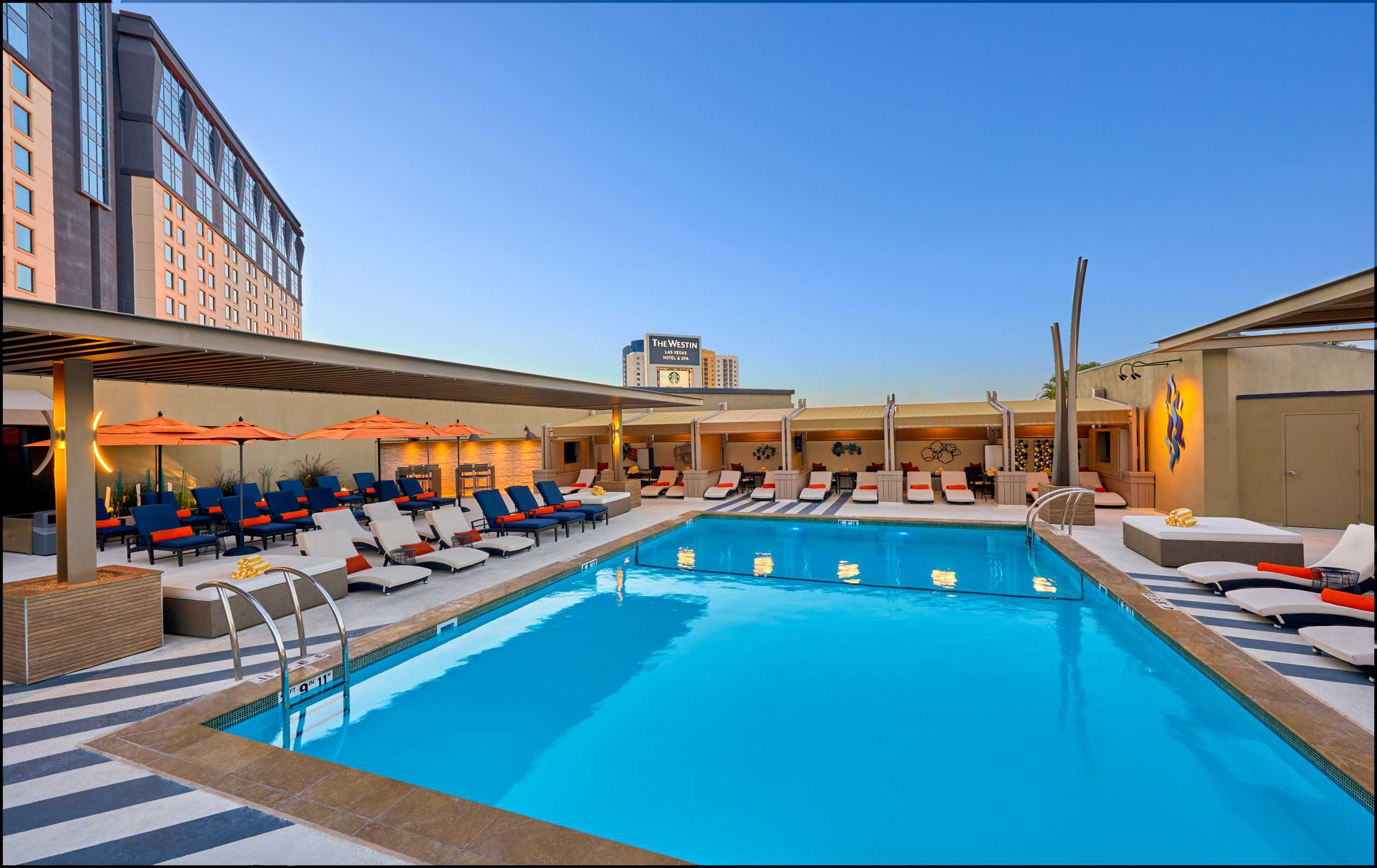 The Newly Renovated Pool at the Westin Hotel and Spa